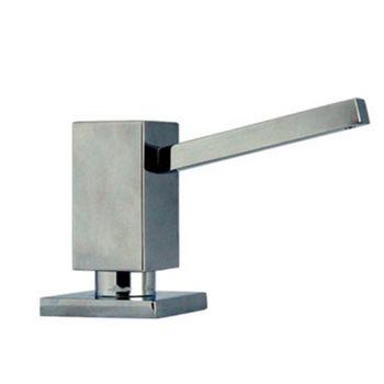 Whitehaus Q Haus Solid Brass Kitchen Soap/Lotion Dispenser, Polished Chrome