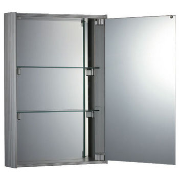 Whitehaus Vertical Double Faced Mirrored Door Medicine Cabinet