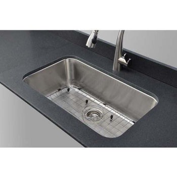 Sink, Grid and Strainer