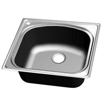 Kitchen Sinks - Chicago Stainless Steel Single Bowl Topmount ...