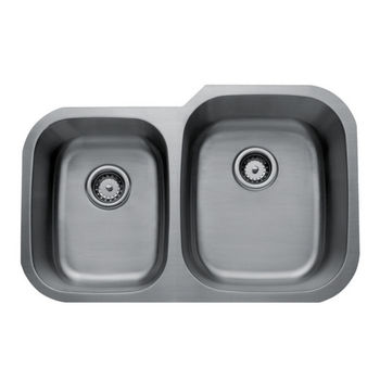 Craftsmen Series Stainless Steel Double Bowl Undermount Sink
