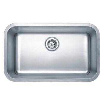 Wells Sinkware Wentworth Craftsman Series Single Bowl Undermount Sink