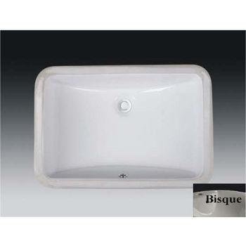Ceramic Sink in Bisque
