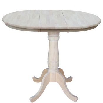 "36"" Round Counter Height Table, 48""W x 36""D x 36""H"