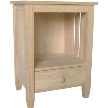 International Concepts - Mission Tall End Table w/ Drawer