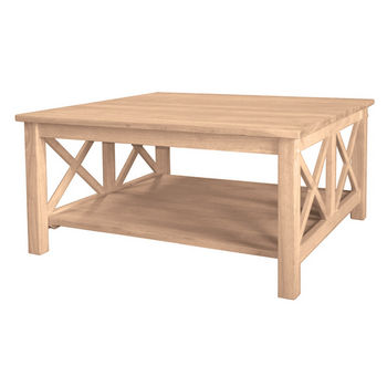 International Concepts - Hampton Square Coffee Table