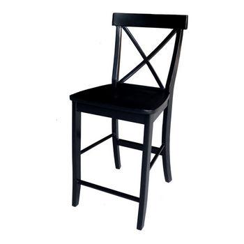 Awe Inspiring Cross Back Counter And Bar Height Stools In Linen White Or Spiritservingveterans Wood Chair Design Ideas Spiritservingveteransorg