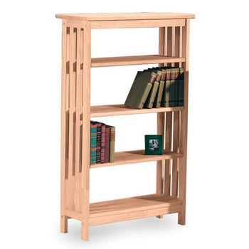 """International Concepts Mission Styled 4 Tier Shelf - 48"""""""