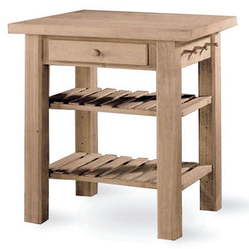 Kitchen Islands and Carts by International Concepts | KitchenSource.com