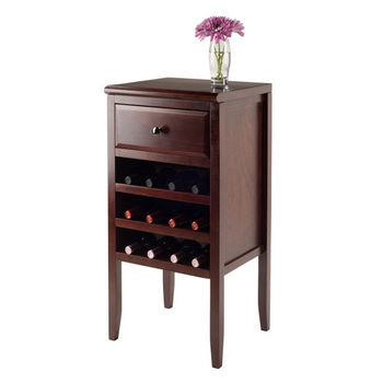 Buffet w/ Drawer, 12-Bottle Wine Rack - Props View