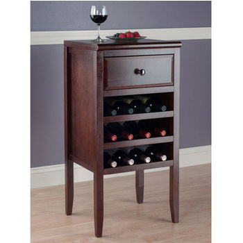 Buffet w/ Drawer, 12-Bottle Wine Rack - In Use View