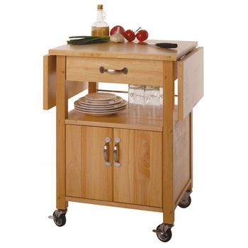 Kitchen Islands & Carts - Drop Leaf Kitchen Cart WS-84920 by ...