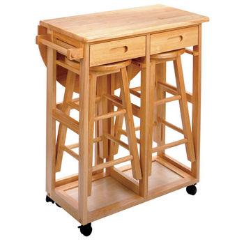 Winsome Wood Kitchen Breakfast Cart