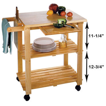 Winsome Wood Kitchen Islands and Carts