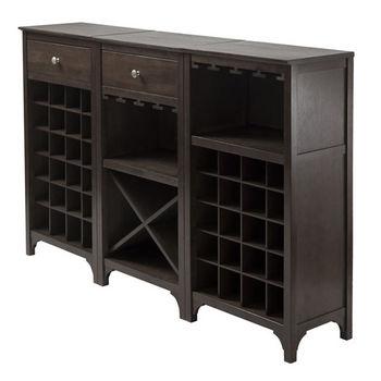 Ancona 3-Pc Wine Cabinet