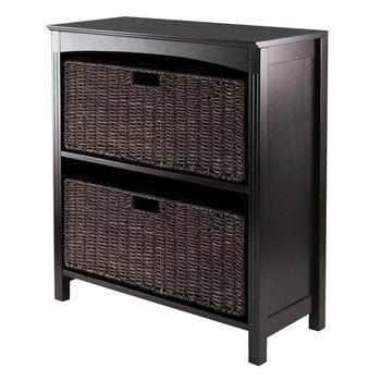 Winsome Wood 3pc Storage 3-Tier Shelf