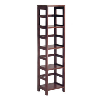 Winsome Wood 4-Section Narrow Storage Shelf