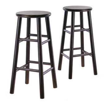 "Winsome - 29"" Bevel Seat Stools"
