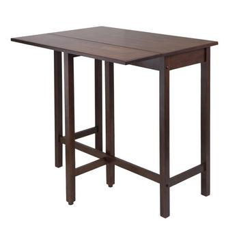 Winsome Wood Lynnwood Drop Leaf High Table