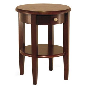 """22-1/2"""" Round End Table"""
