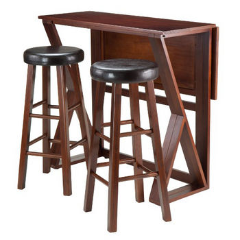 30'' Stools with Leaf Down