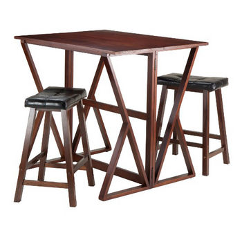 24'' Stools with Leaf Up