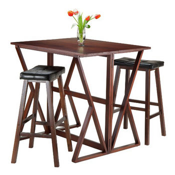 29'' Stools with Leaf Up