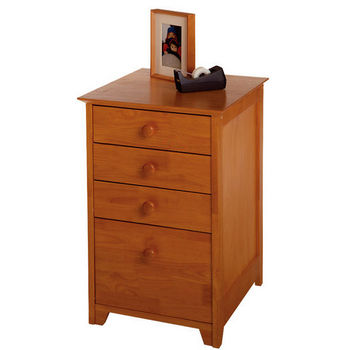 Winsome Wood Studio Shaker Style File Cabinet With 3 Drawers In Honey Pine Finish 18 75 W X 20 D 29 H