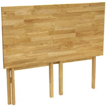 Folding Desk By Winsome Wood Natural Finish Kitchensource