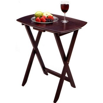 Winsome Wood Folding Tables/TV Trays - Accent Tables | KitchenSource.com