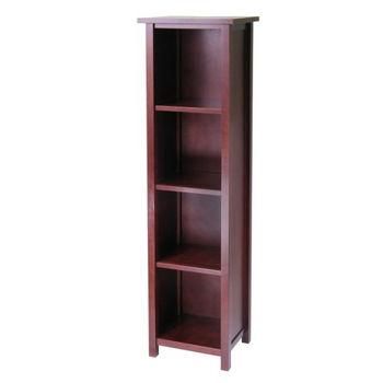 Winsome Wood Milan Storage Shelf/Bookcase - 5-Tier