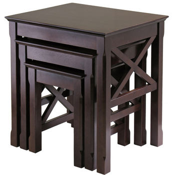 Winsome Wood Xola 3-Pc. Nesting Table