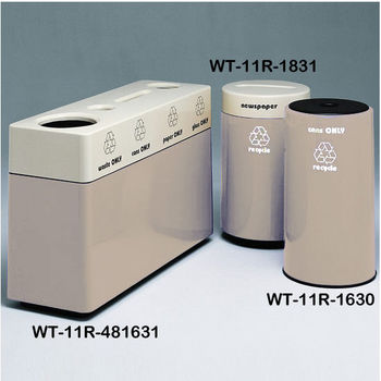 Bone Fiberglass Recycling Containers