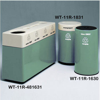 Laguna Fiberglass Recycling Containers