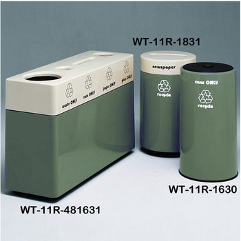 Russian Sky Fiberglass Recycling Containers