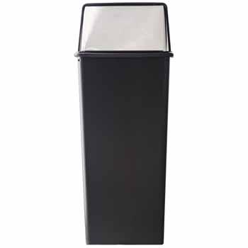 21 Gallon - Black Chrome