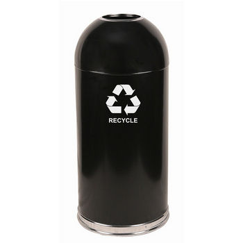Witt Open Top Dome Recycling Receptacle