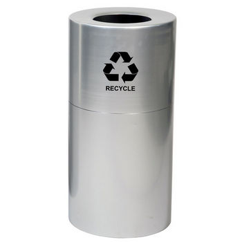 Witt Aluminum Recycling Receptacle