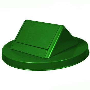 Swing Top Lid, Green (Bin Not Shown)