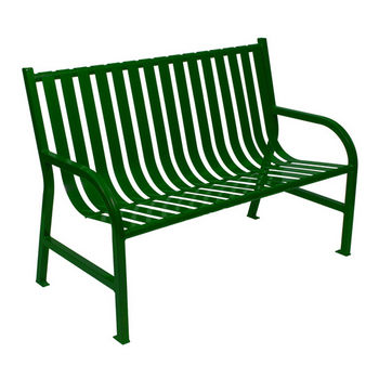 """48"""" Green Bench"""