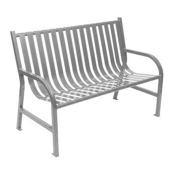 "48"" Silver Bench"
