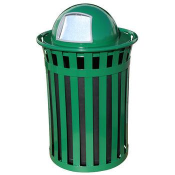 50 Gal, Dome Top, Green