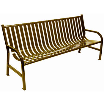 "72"" Brown Bench"