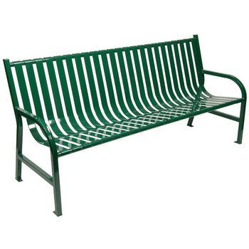 """72"""" Green Bench"""