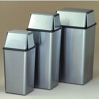 Stainless Steel Waste Watchers - Push Top