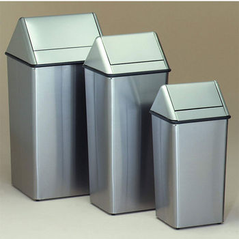 freestanding residential trash cans | kitchensource