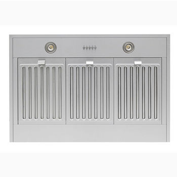 """Windster Wall-Mount Range Hood with 8-9' Duct Cover Included, Stainless Steel, 30""""-48"""" W"""